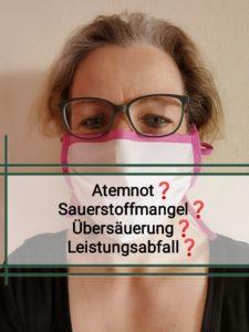 Atemnot durch Mundschutz | Dr. Claudia Bentzien